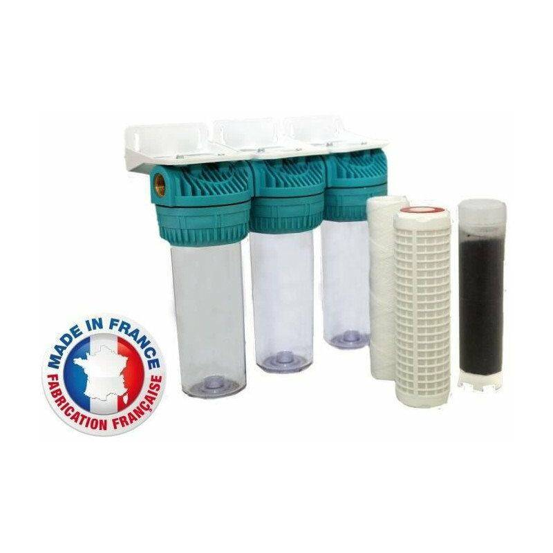 AQUAWATER Station de filtration triple pour eau de pluie - Aquawater