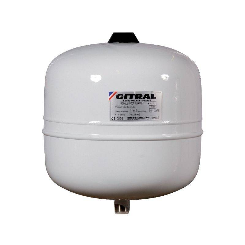 GITRAL Vase d'expansion - 18 L - Eau sanitaire - Gitral