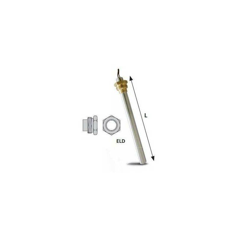 REPORSHOP Pellets résistance Poêle 12.5x160x350w 3/8 x 230v LC500 Palazzetti