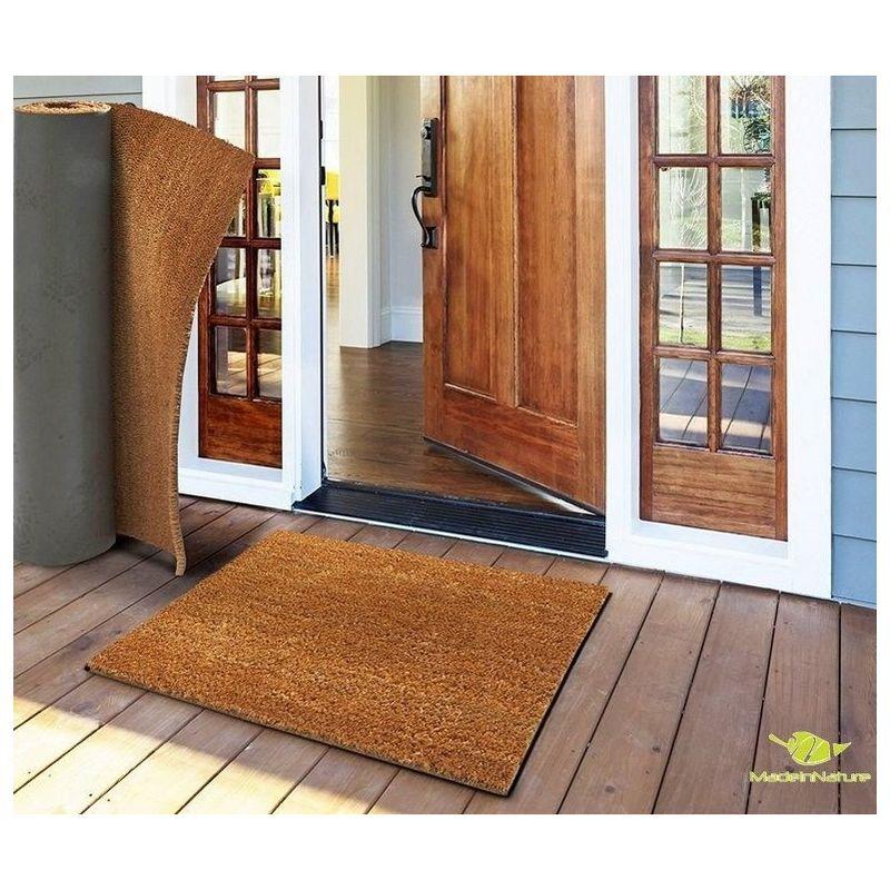 Madeinnature - Paillasson en fibre de coco tapis d'entrée paillasson au mètre
