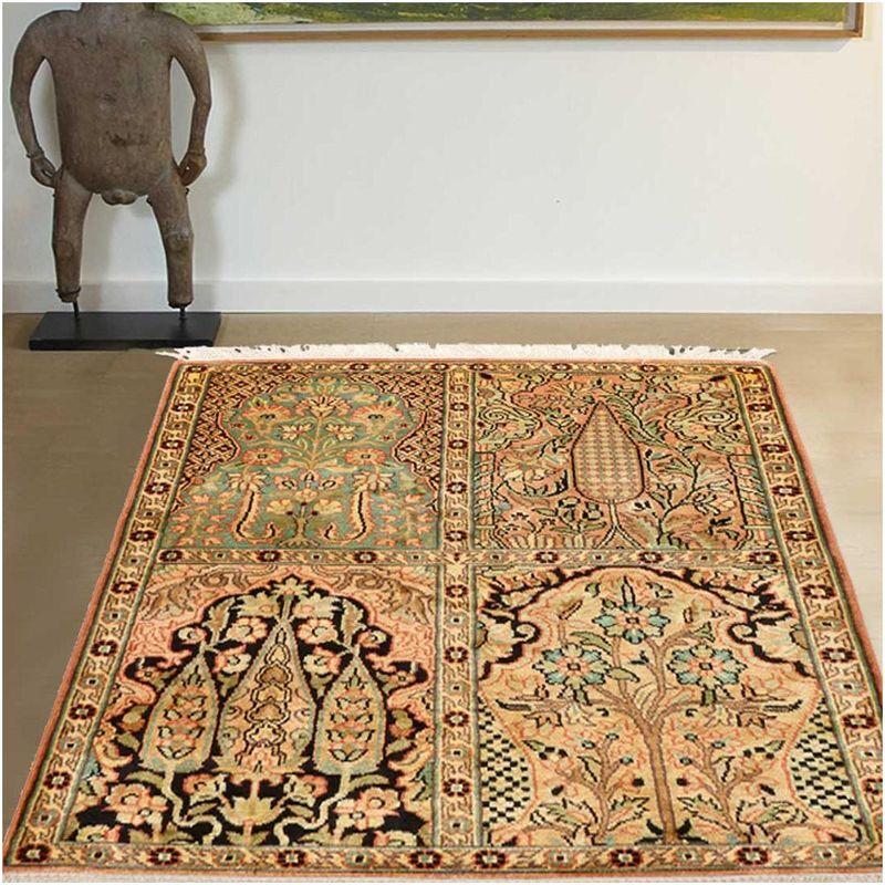 UNAMOURDETAPIS 65x90 Authentique tapis d'Orient entièrement noué à la main CACHEMIRE 23 1A2T