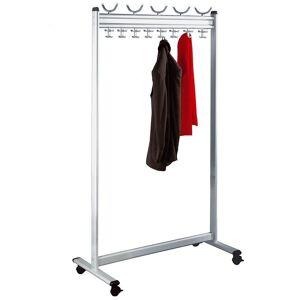 KERKMANN Vestiaire, h x p 1700 x 400 mm - sans porte-parapluies - largeur 1000 mm - Publicité