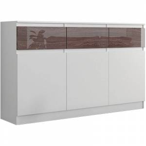 Promotions En Cours Commode Blanc Laque Fly