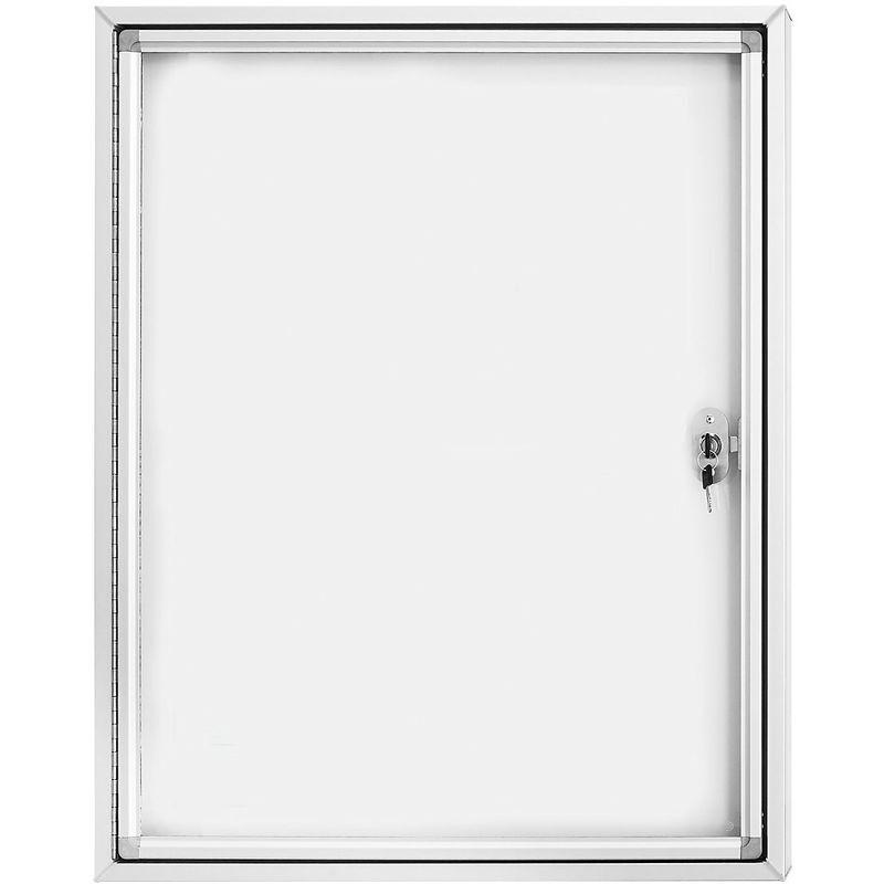 MAGNETOPLAN ® Vitrine d'affichage CC - avec vitre en verre sécurit - capacité 12 x format