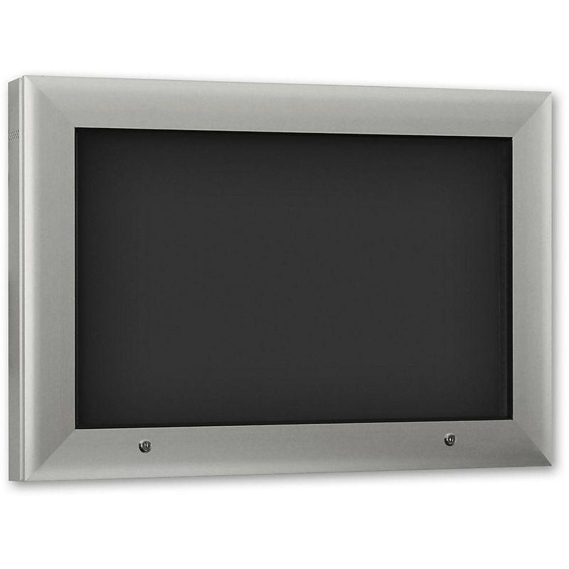 CERTEO Vitrine d'affichage pour l'intérieur et l'extérieur - format horizontal - pour