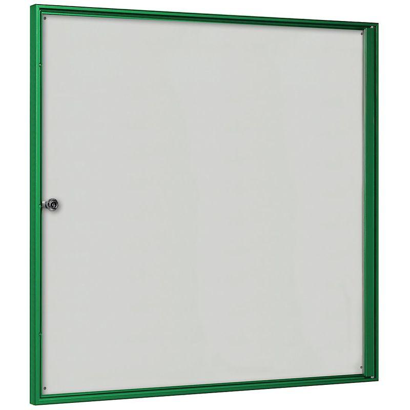CERTEO Vitrine d'affichage pour l'intérieur - pour 3 x 2 format A4 - cadre vert