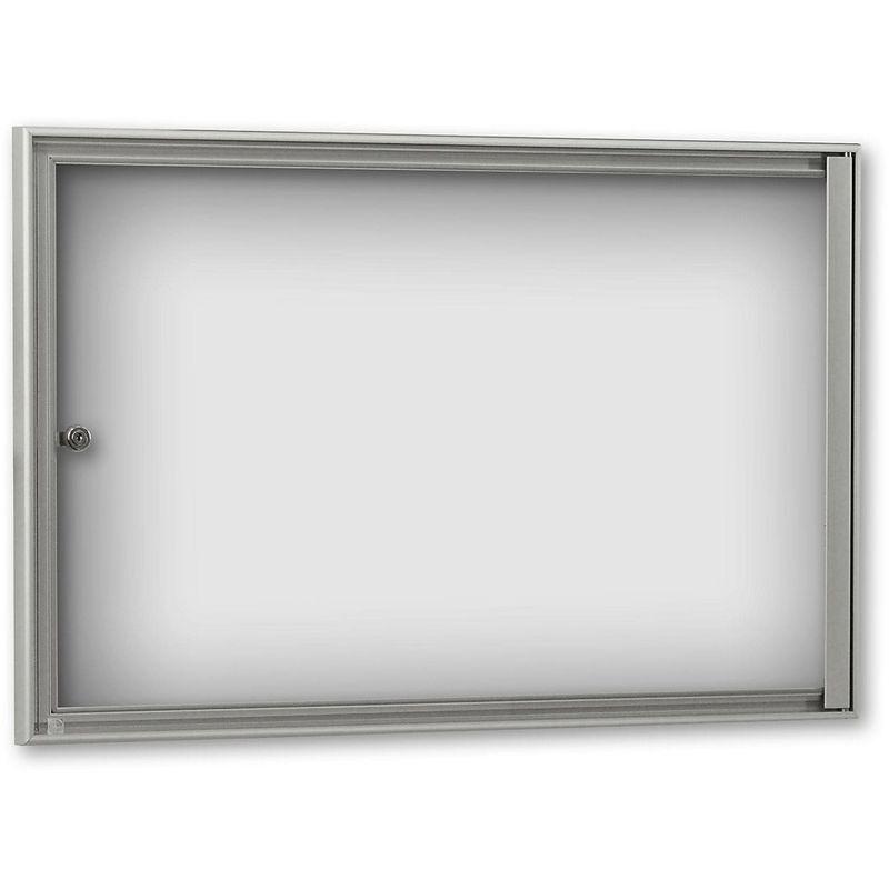 CERTEO Vitrine d'affichage pour l'intérieur - profondeur extérieure 27 mm - pour