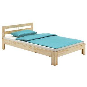 IDIMEX Lit simple THEO 100 x 200 cm lit pour enfant en pin massif vernis naturel, avec - Publicité