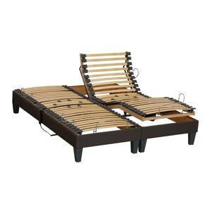 IDLITERIE Lot 2 Sommiers relaxation electrique vanessa Dimensions - 2x80 x 200 cm - Publicité