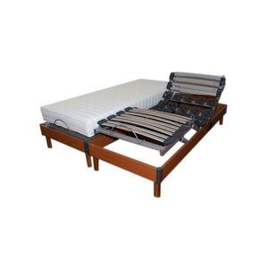 Idliterie - Lot 2 Sommiers relaxation paradis Dimensions - 2x90 x 200 cm - Publicité