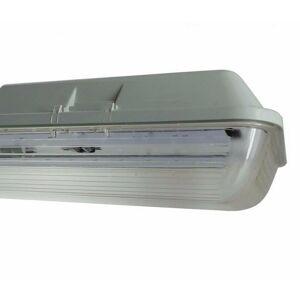 SILAMP Réglette LED étanche Double pour Tubes lumineuse LED T8 150cm IP65 (boitier - Publicité