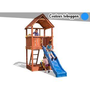 FUNGOO Aire de jeux Joy + Toboggan Bleu - Publicité
