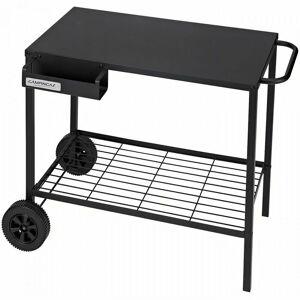 CAMPINGAZ Chariot Desserte pour plancha en acier avec roulettes97x82x59cm - Campingaz - Publicité