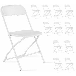 REKKEM Lot de 12 chaises pliantes - Publicité