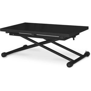 INTENSEDECO Table basse relevable Philadelphia Noir Carbone - Publicité