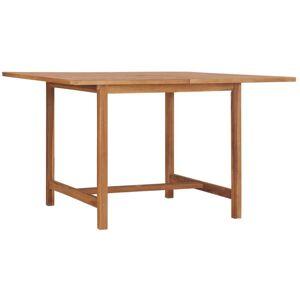Asupermall - Table de jardin 120x120x75 cm Bois de teck solide - Publicité