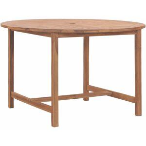 Zqyrlar - Table de jardin 120x76 cm Bois de teck solide - Publicité