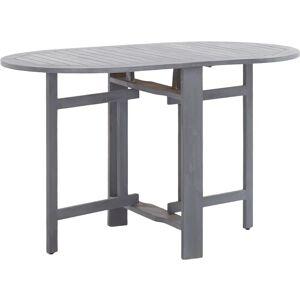 Youthup - Table de jardin Gris 120x70x74 cm Bois d'acacia massif - Publicité