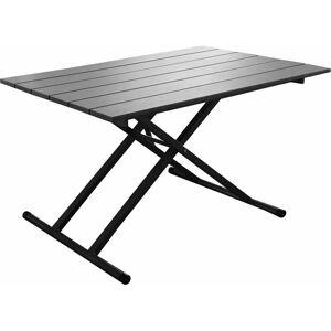 PROLOISIRS Table basse relevable en table à manger jardin Pump Gris - Gris - Publicité