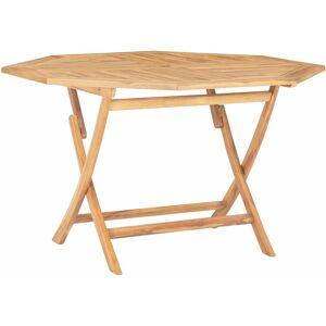 Zqyrlar - Table pliable de jardin 120x120x75 cm Bois de teck solide - Publicité
