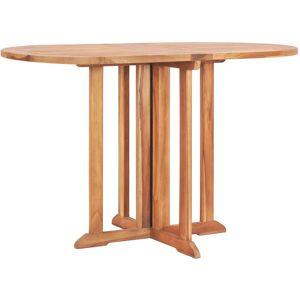 ASUPERMALL Table pliable de jardin papillon 120x70x75 cm Bois teck solide - Publicité