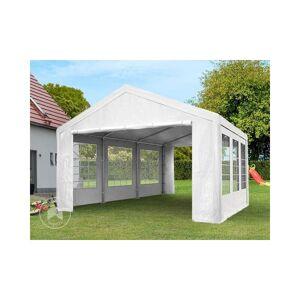INTENT24.FR Tente de réception 3x2 m pavillon blanc bâche PE épaisse d'env.180g/m² - Publicité