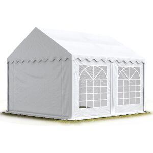INTENT24.FR 4x5 m Tente de réception/Barnum blanc toile de haute qualité env. 500g/m² PVC - Publicité