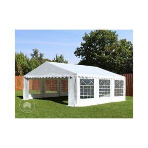 Intent24.fr - INTENT24 5x5 m Tente de réception/Barnum blanc toile de haute - Publicité