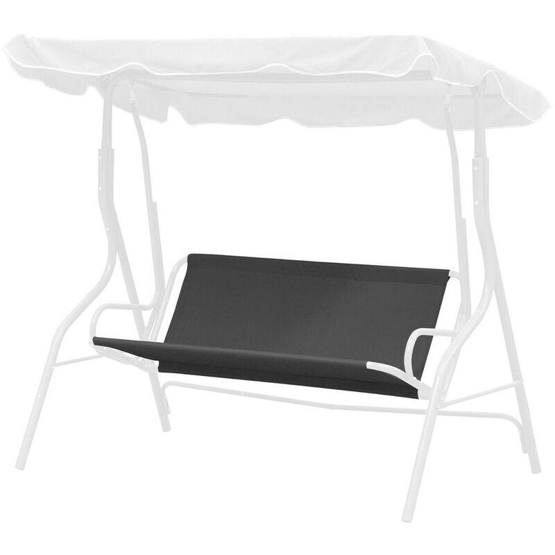 MANTA 45.3x37.8CM Housse de siège pivotant pour banc de jardin pivotant / siège hamac