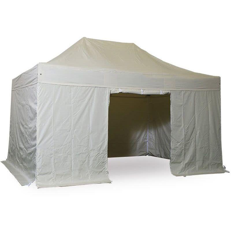 Interouge - Barnum pliant tonnelle 3x4.5m Pack complet Alu 40 polyester 300g/m²
