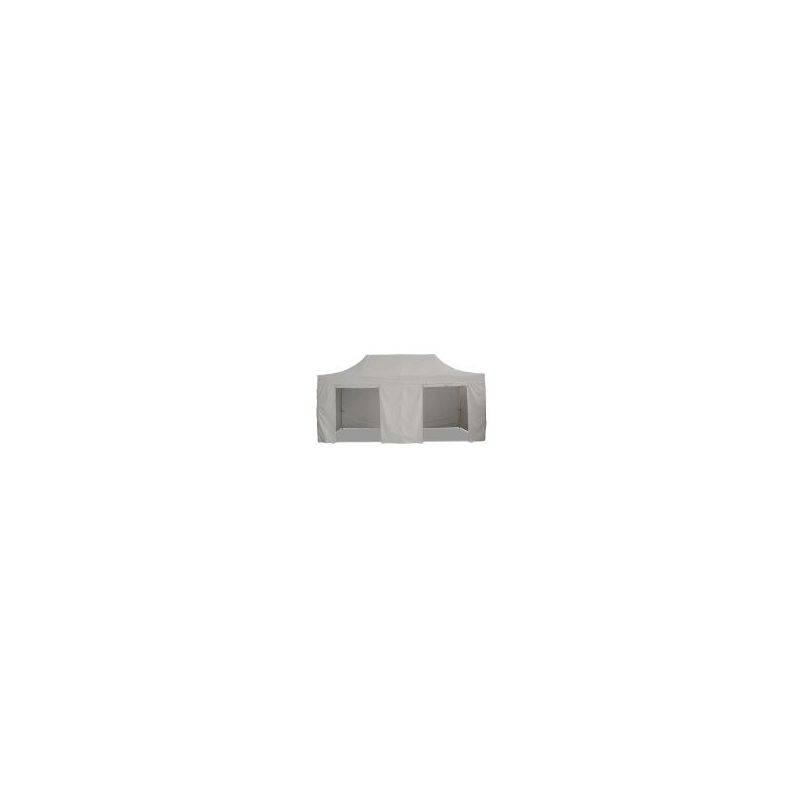 Interouge - Barnum pliant tonnelle 3x6m Pack complet Alu 40 polyester 300g/m²