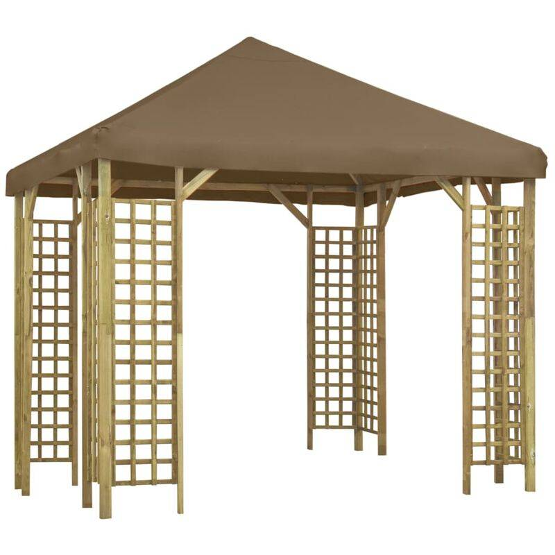 YOUTHUP Belvédère 3x3 m Taupe