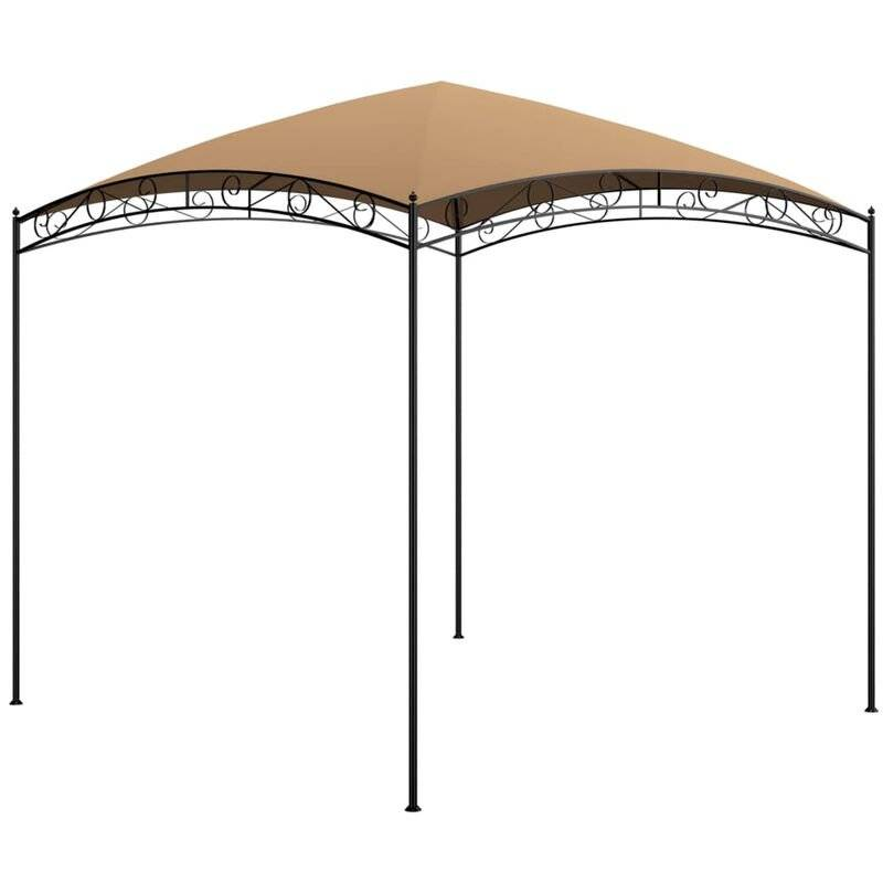 Asupermall - Belvedere 3x3x2,65 m Taupe 180 g/m2
