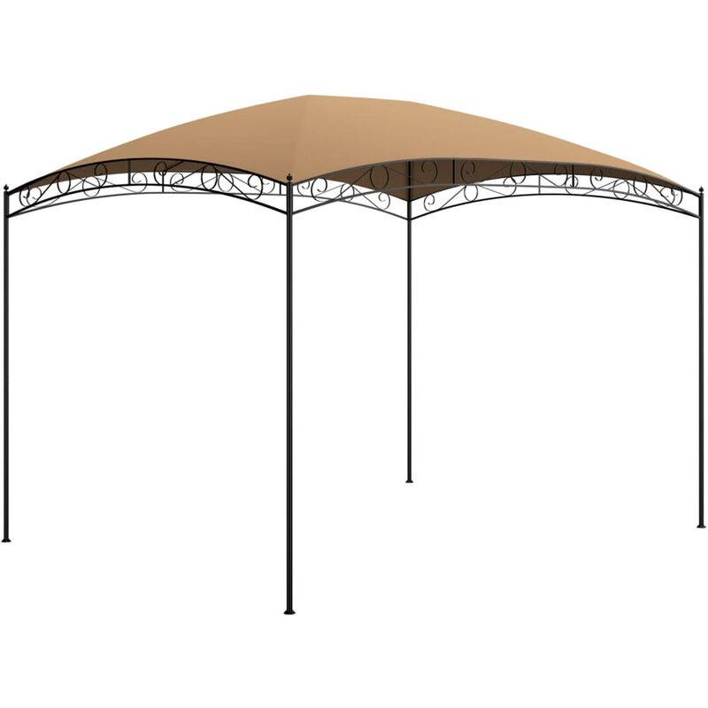 Asupermall - Belvedere 3x4x2,65 m Taupe 180 g/m2