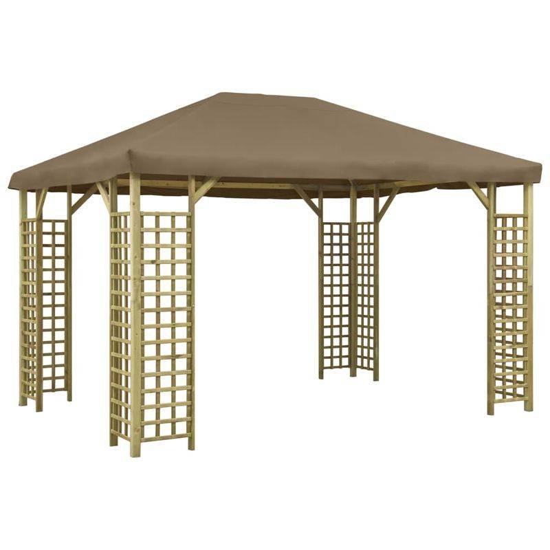 ASUPERMALL Belvedere 4x3 m Taupe
