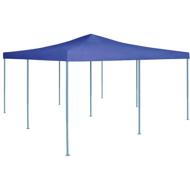 ASUPERMALL Belvedere pliable 5x5 m Bleu