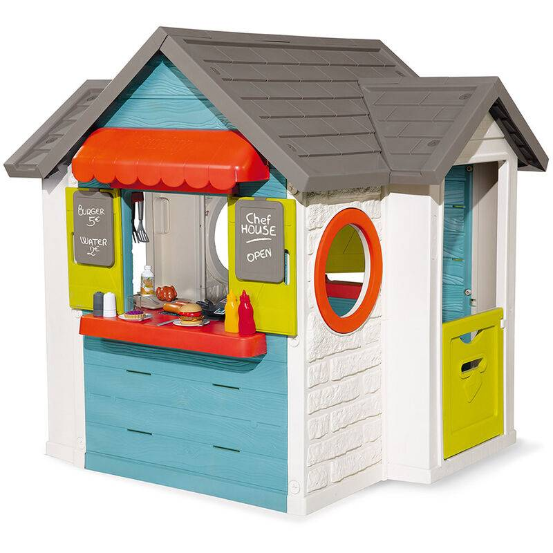 SMOBY Cabane enfant Chef House - Smoby