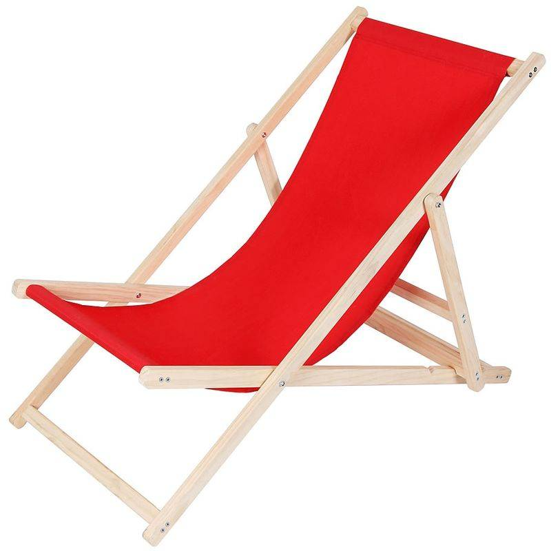 MUCOLA Canapé de plage, divan de jardin chaise longue de jardin en bois divan pliant