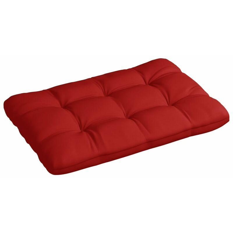 ILOVEMONO Coussin de palette Rouge 120x80x12 cm Tissu
