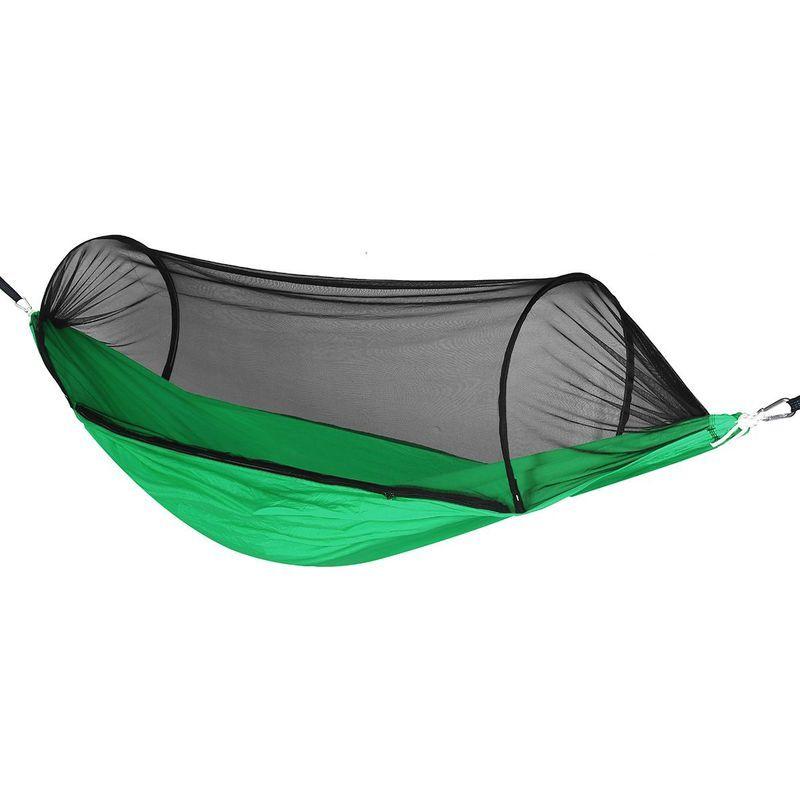 KINGSO Hamac avec moustiquaire 270x140cm 400KG Voyage Camping Exterieur Jardin Lit