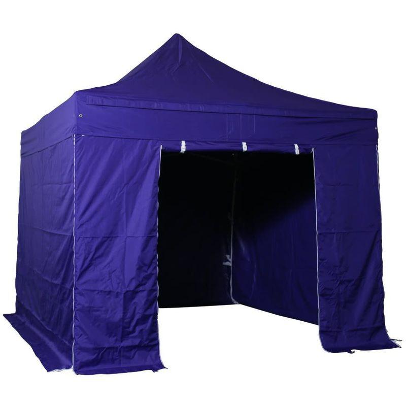 Interouge - Tente pliante pergola tente de jardin tonnelle 3x3 M en Acier et