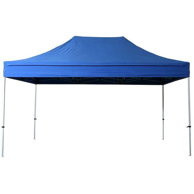 Interouge - Tente pliante pergola tente de jardin tonnelle 3x4,5 M Acier 32mm