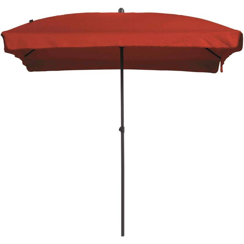 MADISON Parasol Patmos Rectangulaire 210x140 cm Rouge brique - Madison
