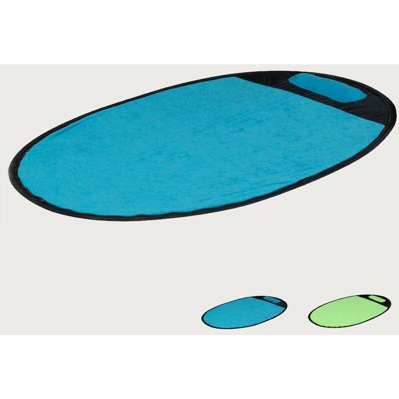 BEACHLINE Serviette de plage anti-vent anti-sable Sempresteso   Bleu