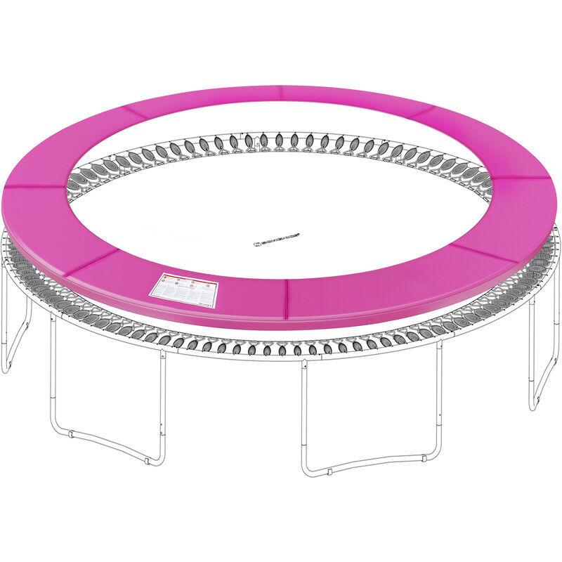 SONGMICS Coussin de sécurité de trampoline de remplacement, Rechange, diamètre 244 cm,