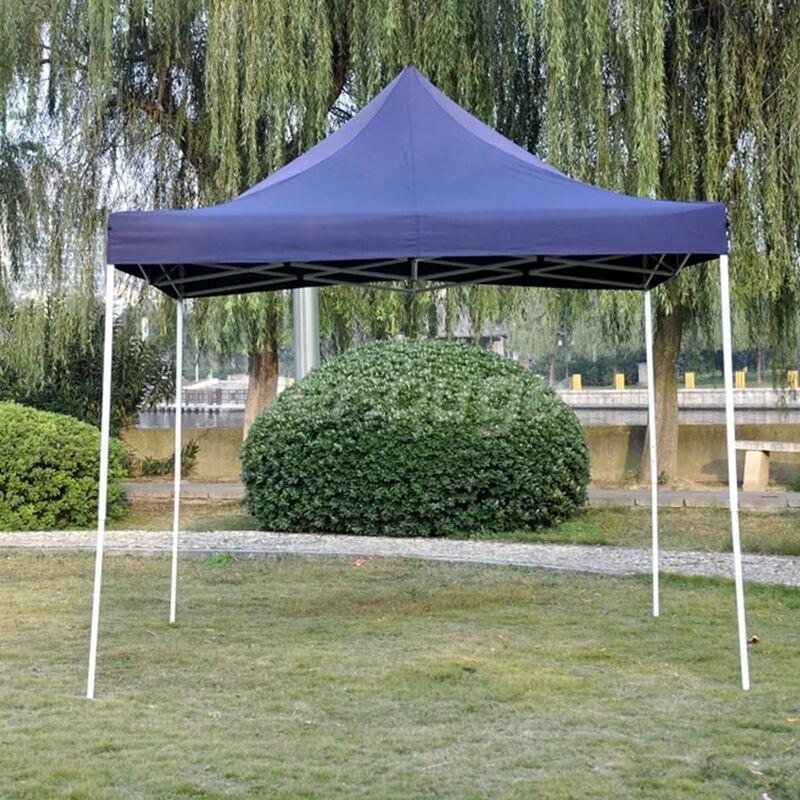 INTEROUGE Tente Pliante Tonnelle de jardin 3x3m en Polyester 180g/m² traitée antigel +