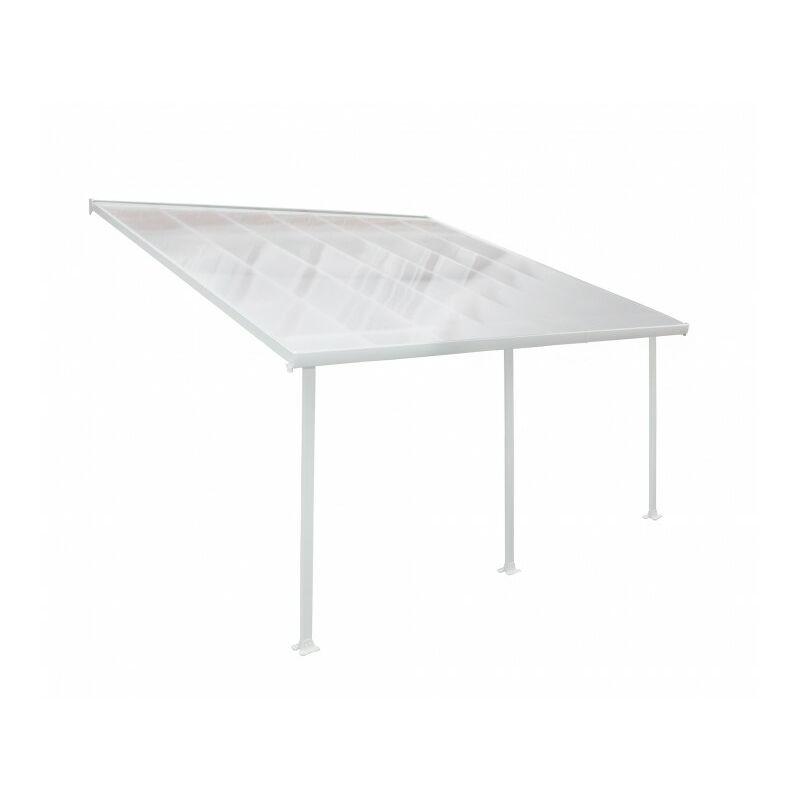 CHALET & JARDIN Chalet&jardin; - Toit de terrasse FERIA PATIO COVER Blanc 4x4m