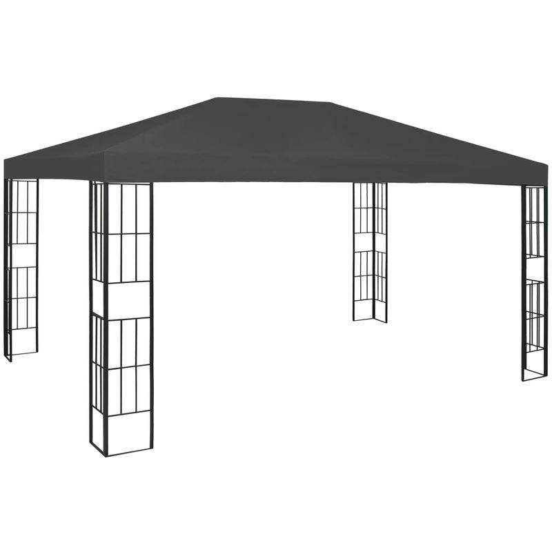 Asupermall - Tonnelle 3x4 m Anthracite
