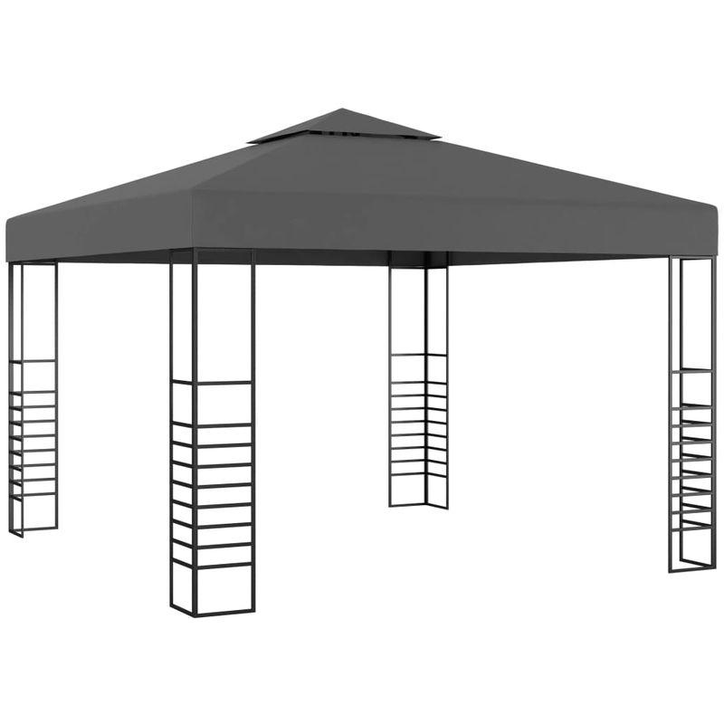 Asupermall - Tonnelle de jardin 3 x 3 m Anthracite