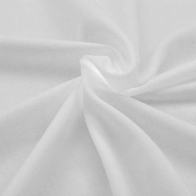 Topdeal VDYU01326_FR Housses extensibles pour table 2 pièces 183 x 76 x 74 cm